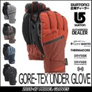 16-17 BURTON バートン MEN'S snow グローブ GORE-TEX UNDER GLOVE メール便不可 日本正規品 【返品種別SALE】