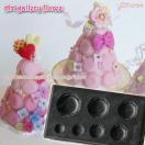 Lovely Sweets ぷっくり マカロン (粘土型抜き)