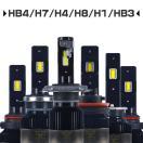 特売 LEDヘッドライトH4 Hi/Lo LEDフォグランプ H1 H3 H7 H8 H11 H16 HB3 HB4 業界人気No.1 粗悪品にご注意 1年保証 送料無RC