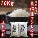 魚沼産コシヒカリ 御中元 ギフト 28年度産 お米 10kg(5キロ×2袋) 特別栽培米 送料無料