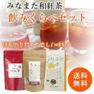 国産 みなまた和紅茶 飲みくらべ 3種 ティーバッグ 送料無料 天...