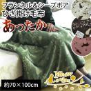 スヌーピー ひざ掛け 毛布 70×100cm 西川リビング 膝掛け毛布 フランネル ブランケット ピーナッツ