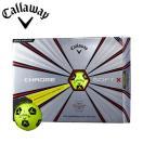 数量限定モデル キャロウェイ ゴルフ クロムソフトX トゥルービス イエロー ゴルフボール 1ダース(12P) 2018年モデル あすつく対応