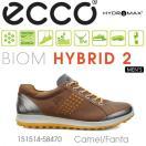 【送料無料】【2015年モデル】ECCO エコー MEN'S GOLF BIOM HYBRID 2 【151514-58470】 メンズ ゴルフシューズ