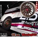 Z.S.S. ZSS 15インチ 6.0J +35 ホイール 4本セット Winning-DG7 マットブロンズ カー用品 自動車パーツ