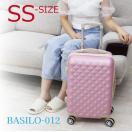 スーツケース キャリーバック Sサイズ 小型 1〜3泊用 軽量 かわいい ファスナータイプ 全12色