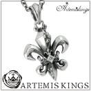 アルテミスキングス ネックレス メンズ レディース シルバー リリィ クラウン Artemis Kings メンズネックレス