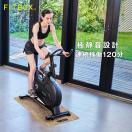 FiTBOX フィットネスバイク スピンバイク エアロ バイク 家庭用 トレーニングバイク 連続使用 90分 ダイエット器具 メーカー1年保証 組み立て簡単 静穏 ブラック