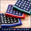 TOMMY HILFIGER トミーヒルフィガー ブランド 星柄 綿100% ハンカチ 2582-113 メンズ 彼氏 ポイント10倍