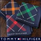 TOMMY HILFIGER トミーヒルフィガー バイアスチェック柄 綿100% ハンカチ 2582-116 メンズ プレゼント 誕生日 ギフト 彼氏 ポイント10倍