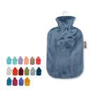 ファシー ソフトベロア 湯たんぽ 2.0L 暖房 節電 防寒 氷枕 水枕 6712 FASHY Velour covered hot water bottle