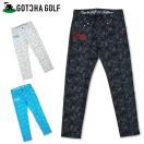 ガッチャゴルフ メンズ ロングパンツ メキシカン柄 ロゴ刺繍 182GG1800 GOTCHA GOLF 春夏 18SS ゴルフ メンズウェア