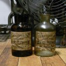 アンティーク ガラス瓶 インテリア 花瓶