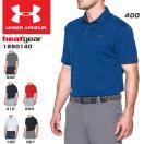 アンダーアーマー UNDER ARMOUR メンズ ゴルフウェア 半袖ポロシャツ UA TECH POLO 1290140 2017年春夏モデル