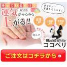 恋愛金運お守りココペリ人形/ブラックandホワイト/開運 ギャンブル 結婚 ストラップキーホルダー
