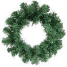 「クリスマスリース35cm グリーン」 クリスマス飾り 造花 玄関 クリスマスパーティー
