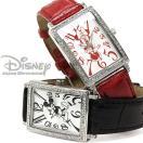 disney_y 腕時計 ディズニー Disney ミッキーマウス ミニーマウス 革ベルト ユニセックス