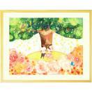 結婚記念日 プレゼント 結婚祝い 絵画アート [Shine Tree] (名前入れ可-Sサイズ) 結婚のお祝い 結婚式 サプライズ 新婦 夫 妻 名前入り ギフト 入籍祝い