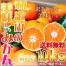 (あすつく対応)みかん 10kg 和歌山県産 ...