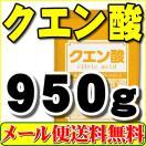 クエン酸(原末粉末無水)100%品・1kg【メール便専用】【送料無料】