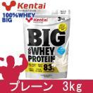 kentai BIG100% ホエイプロテイン プレーンタイプ 3kg  - 健康体力研究所