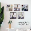 壁掛け スタンド フォトフレーム 写真立て HARROW4 ハロウ4