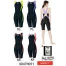 ●●SD47H051 SPEEDO(スピード) レディース競泳水着 FLEX Σ ウイメンズニースキン4 女性用/競泳/スパッツ/FINA承認