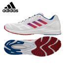 アディダス adidas ランニングシューズ マラソンシューズ メンズ adiZERO feather RK 2  アディゼロフェザーRK2 CDA57 BY2454 スピード重視 軽量