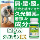 MSM+グルコサミン 300粒 注目の成分MSM配合 久光製薬公式