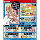 ムーミン Moomin Homestyle Dishes 楽しい食卓 1BOX(8個入り) リーメント【02月予約】