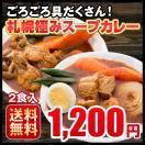 カレー 送料無料 札幌スープカレー 2食セッ...