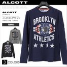 ALCOTT アルコット ロングTシャツ メンズ 長袖 ロンT TS4706 AC11493SL ゆうメール便送料無料