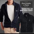 アバクロ フリースジャケット アバクロンビー&フィッチ Abercrombie&Fitch FLEECE MOCK NECK JACKETフル モックネック AM30035 大きいサイズ