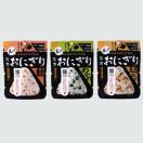 尾西食品 アルファ米 携帯おにぎり お試し3食セット(鮭・五目おこわ・わかめ)|メール便(代引き不可)