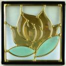 ステンド グラス ステンドグラス ステンドガラス デザインパネルsgsq201