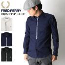 (フレッドペリー)FREDPERRYフロントタイプシャツワイシャツメンズレディース