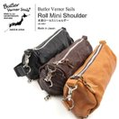 Butler Verner Sails(バトラーバーナーセイルズ) ショルダーバッグ ボディバック レザー 革 メンズ レディース