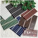インテリアモザイクタイル シート 壁 デコレ ガレット 10枚セット/北欧 カフェ タイル キッチン シート DIY