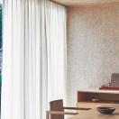 【生地のみの購入! ※1m以上10cm単位で購入可能】 カーテン シェード 川島織物セルコン FELTA TRANSPARENCE FT6621