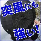 24本骨傘 65cm 高強度 グラスファイバー フレーム 雨傘 長傘 番傘 撥水 はっ水 大きい 傘 かさ カサ 和傘 雨 梅雨 風に強い 丈夫 着後レビューで送料無料