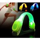 LED腕バンド 夜間 光る 反射 夜 ランニング ウォーキング 5色