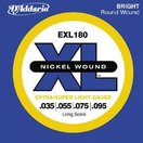 D'Addario / EXL180 Extra Super Light 35-95 Long Scale (★お取り寄せ)