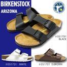 ビルケンシュトック サンダル アリゾナ ARIZONA 黒 ブラック 茶 ダークブラウン 白 ホワイト メンズ BIRKENSTOCK arizona
