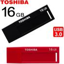 TOSHIBA USBメモリー 16GB TransMemory USB3.0 V3DCH-016G  海外パッケージ品