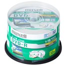 マクセル データ用16倍速対応DVD-R 50枚パック CPRM対応4.7GB ホワイトプリンタブル maxell DRD47WPD.50SP 返品種別A