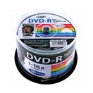 HI-DISC データ用 16倍速対応DVD-R 50枚パック 4.7GB ホワイトプリンタブル ハイディスク HDDR47JNP50 返品種別A