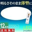 LEDシーリングライト 照明 12畳 調光 5200lm アイリスオーヤマ