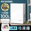 冷凍庫 小型 家庭用 PF-A100TD-W アイリスオーヤマ
