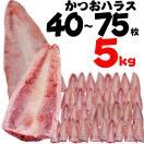 カツオ 鰹 かつおハラス5kg 買得 腹肉 一番脂 唐揚 はらんぼ ハランボ 8〜15...