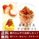 氷カフェ・苺アイス・カタラーナ3種のお試し福袋セット  母の日 父の日 お中元